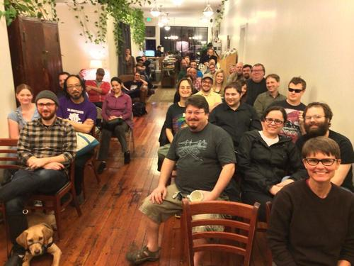 Sword & Laser meet-up and anthology reading January 2014