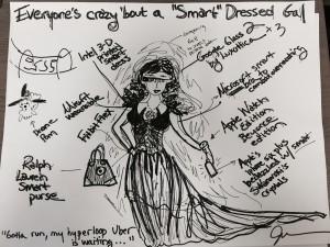 Smart Dressed Gal
