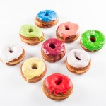 Multiple colored cronuts